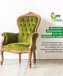 JPI HDHL welcomes applications for the position of chair